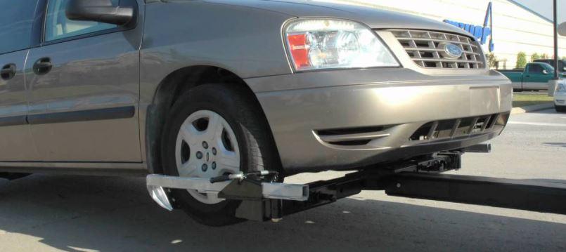 wheel lift towing
